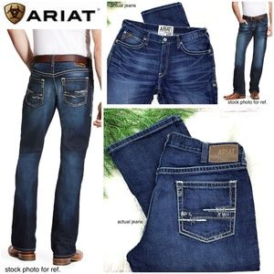 👖|•ARIAT•| M4 Adkins Turnout Low Rise Boot 36x30